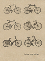 Six Bicycles