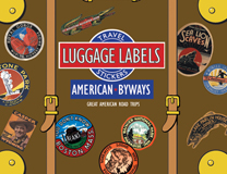 American Byways  Travel Labels (Travel Stickers)