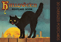 Halloween Postcard Book (Postcards)