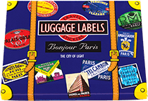 Bonjour Paris  Travel Labels