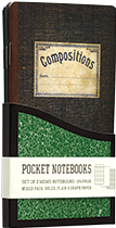 Vintage Composition (Pocket Notebooks)