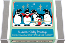 Warmest Holiday Greetings - Christmas Cards by Janet Sue Rumely (Packaged and Boxed Christmas Greeting Cards)