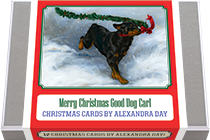 Merry Christmas Good Dog Carl - Christmas Cards by Alexandra Day (Packaged and Boxed Christmas Greeting Cards)