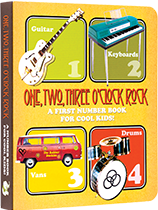 One, Two, Three O'Clock, Rock: A First Number Book for Cool Kids (Board Books Children's Books)
