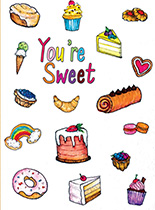Sweet Things (Friendship Greeting Cards)