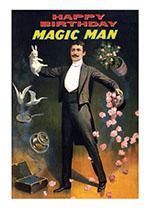 Magic Man (Birthday Greeting Cards)