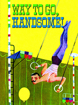 Handsome Aerialist (Thinking of You Greeting Card)