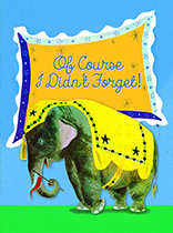 Elephant Remembering (Birthday Greeting Cards)