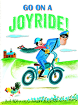 Boy & Bicycle Policeman (Birthday Greeting Cards)