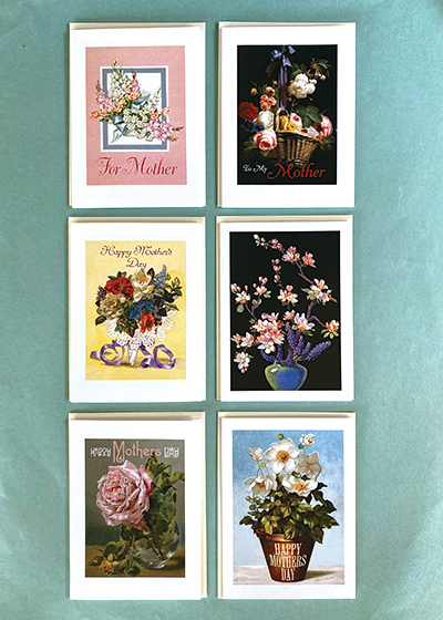 Beautiful Flowers Mother's Day Card Bundle (Mother's Day Greeting Cards)