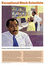 Walter E. Massey (Exceptional Black Scientists Art Prints)