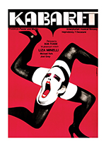 Cabaret Poster (Retro Movie Posters Performing Arts Art Prints)