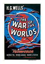 The War of the Worlds Poster (Retro Movie Posters Performing Arts Art Prints)