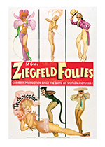 Ziegfeld Follies Poster (Retro Movie Posters Performing Arts Art Prints)