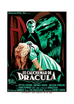 Horror of Dracula Poster (Retro Movie Posters Performing Arts Art Prints)