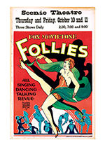 Fox Movietone Follies of 1929 (Retro Movie Posters Performing Arts Art Prints)