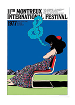 Montreux Film Festival Poster (Retro Movie Posters Performing Arts Art Prints)