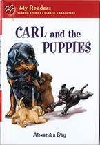 Carl and the Puppies (Signed)-SOLD RETAIL ONLY