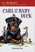 Carl and the Baby Duck (Signed)-SOLD RETAIL ONLY