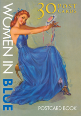 Women In Blue Postcard Book (Web Specials)