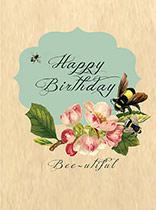 Birthday Bee-utiful!