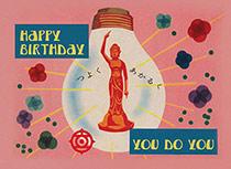 Birthday Light Bulb (Birthday Greeting Cards)