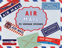 Airmail Travel Labels