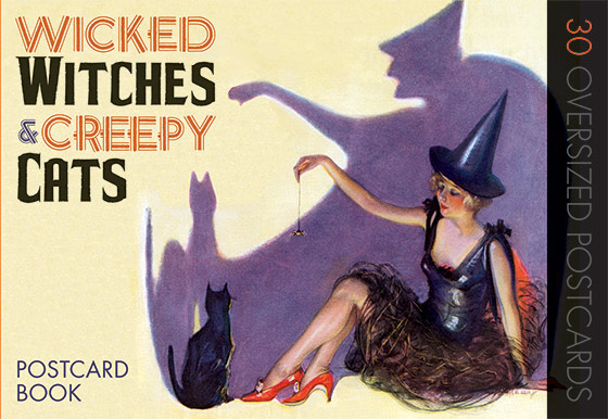 Wicked Witches & Creepy Cats (Postcards)