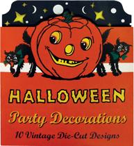 Halloween Party Decorations: 10 Vintage Die-Cut Designs