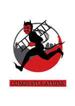 Devilish Boy (Congratulations Greeting Cards)