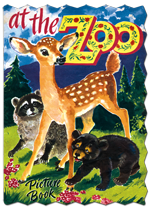 At The Zoo Picture (Shaped Children's Books)