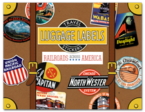 Railroads Across America Travel Labels