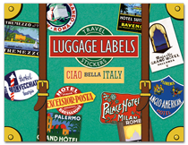 Ciao Bella Italy Travel Labels