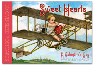 Sweet Hearts Postcard Book