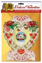 Victorian Heart Deluxe Valentine (Jumbo Deluxe Valentine's Day Greeting Cards)