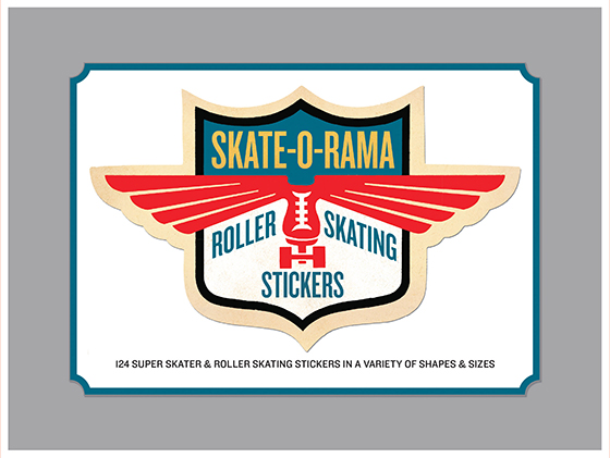 Skate-O-Rama Sticker Box (Everyday Stickers)