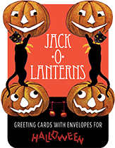 Jack-o-Lanterns - Boxed Greeting Cards (Holiday Packaged and Boxed Greeting Cards)