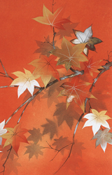 Fall Leaves Pocket Mirror