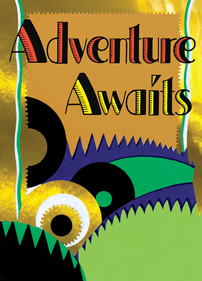 Adventure Awaits (Encouragement Greeting Cards)