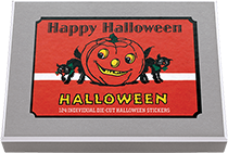 Happy Halloween Sticker Box